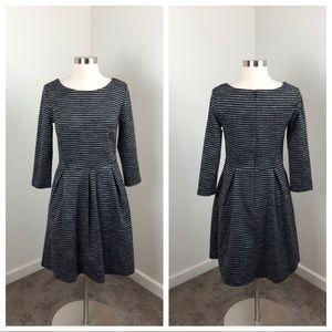 Merona striped long sleeve dress